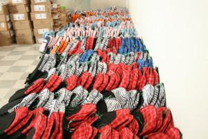 So many backpacks!